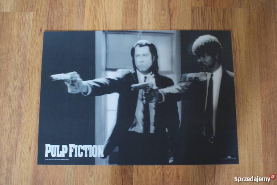 Pulp Fiction Plakat Filmowy Trójwymiarowy 3d Duży