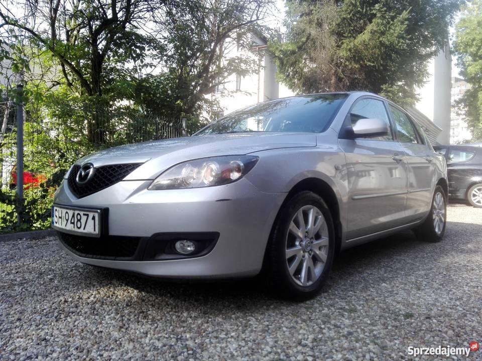 Mazda 3 klima sprawna jeżdząca fajna zadbana kurtyny powietrzne