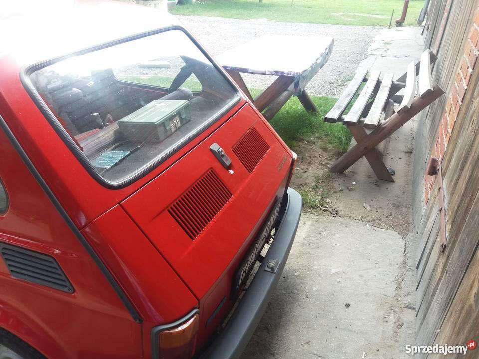 Fiat 126p kupiony w polskim salonie Rakszawa