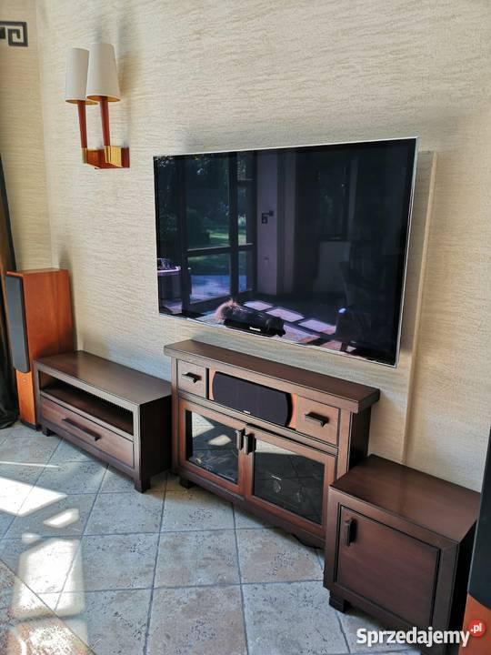 Komplet Meble Pod Tv Ciemne Drewno Warszawa Sprzedajemy Pl