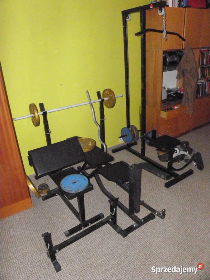 Domowa siłownia full