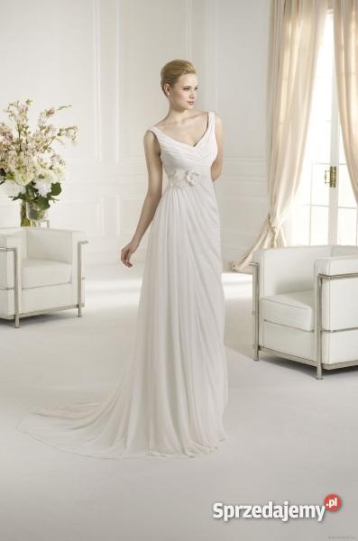 Suknia ślubna Delikatna Lekka Zwiewna Odin 5040 Sprzedajemypl