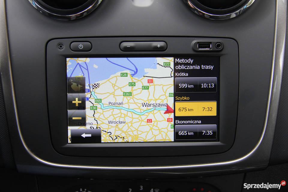 Dacia Renault Media Nav Evolution Aktualizacja Nawigacji GPS