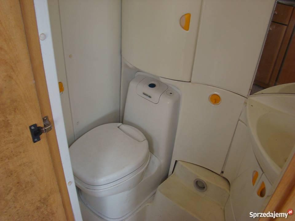 Kemping Szrot łazienka Z Przyczepy Knaus 2000 Rok Tanio