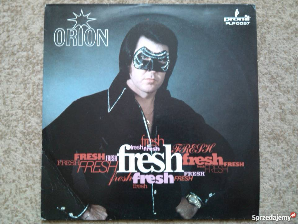 Orion - Fresh - LP - p?yta gramofonowa, winyl - 1987 Starogard Gda��ski