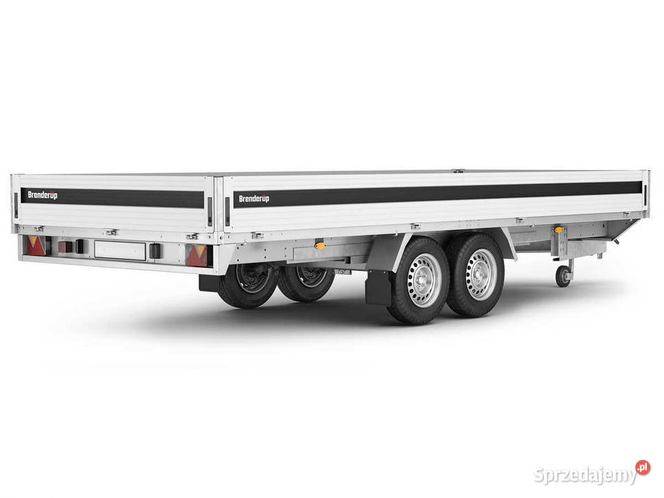 Przyczepa ciężarowa Brenderup 5520W 3,5t