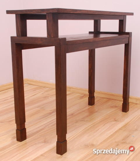 stolik konsola toaletka stoliczek drewniane Bielice sprzedam