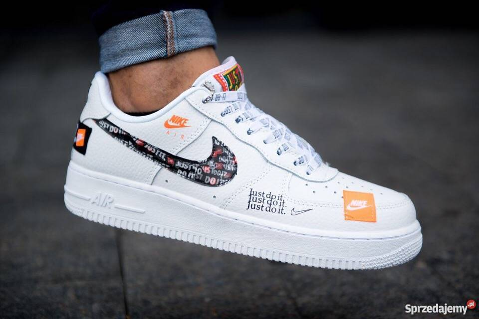 Nike Air Force 1 07 Just Do It Pack White r41 45