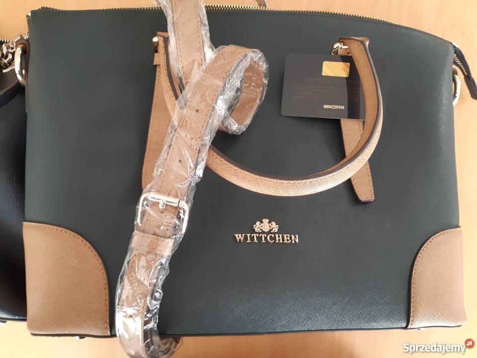 690e39be24f66 torebki skórzane wittchen - Sprzedajemy.pl