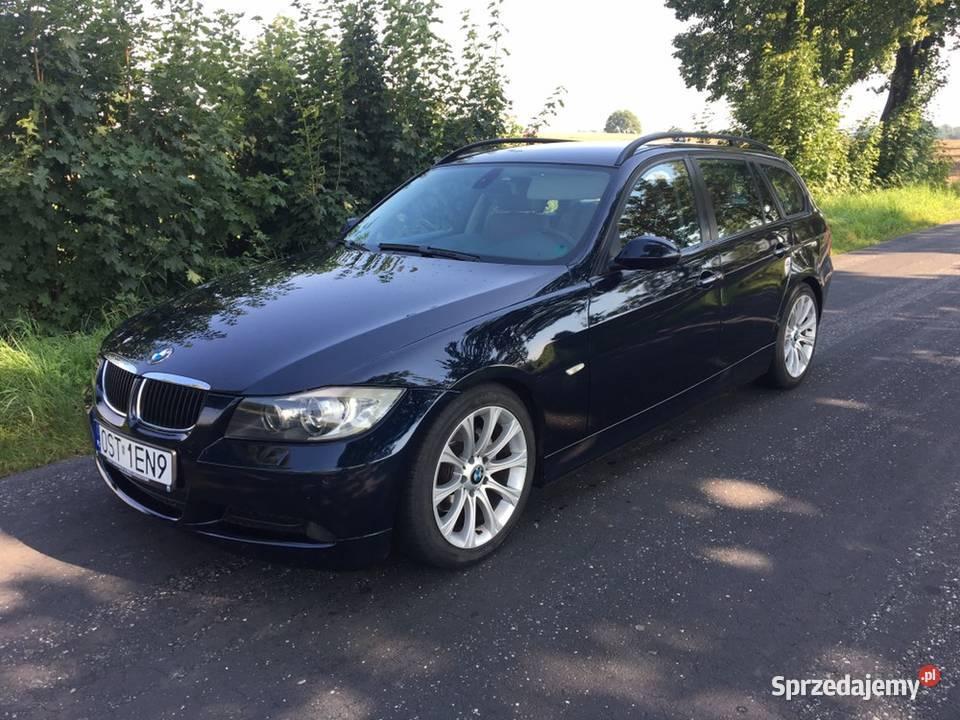 BMW e91 320d 191km navi skóra xenon full opcja
