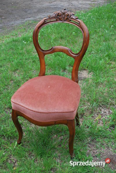 Ludwik Filip Kanapa fotel dwa krzesła Olsztyn