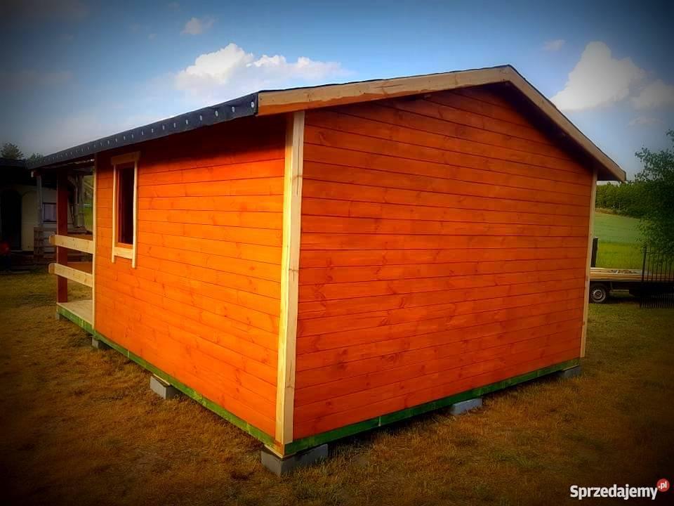 Altanka domek drewnianydomek letniskowy sprzedam