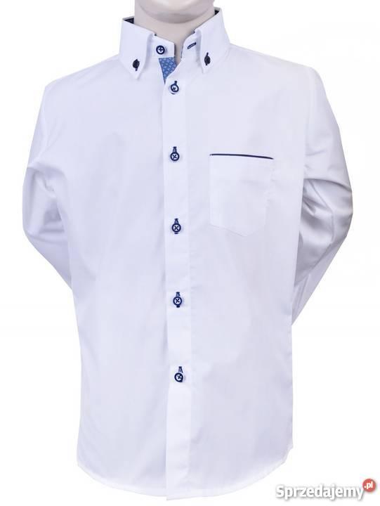 Modna koszula chłopięca idealna na Pierwszą Komunię  zpRce