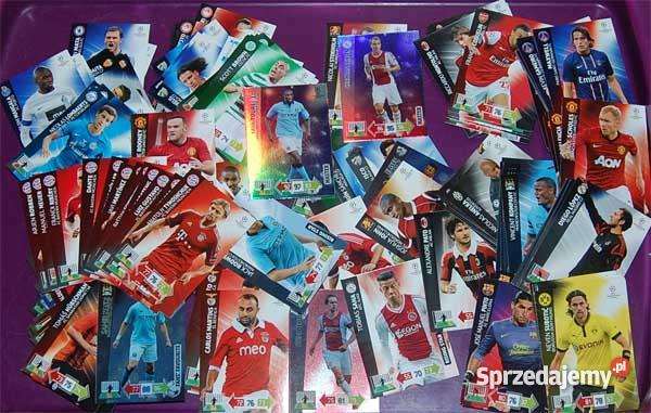 Karty CHAMPIONS LEAGUE ADRENALYN XL PANINI 20131 Pozostałe Kielce sprzedam