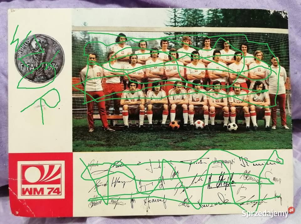 Kadra PZPN na mistrzostwa świata RFN rok 1974