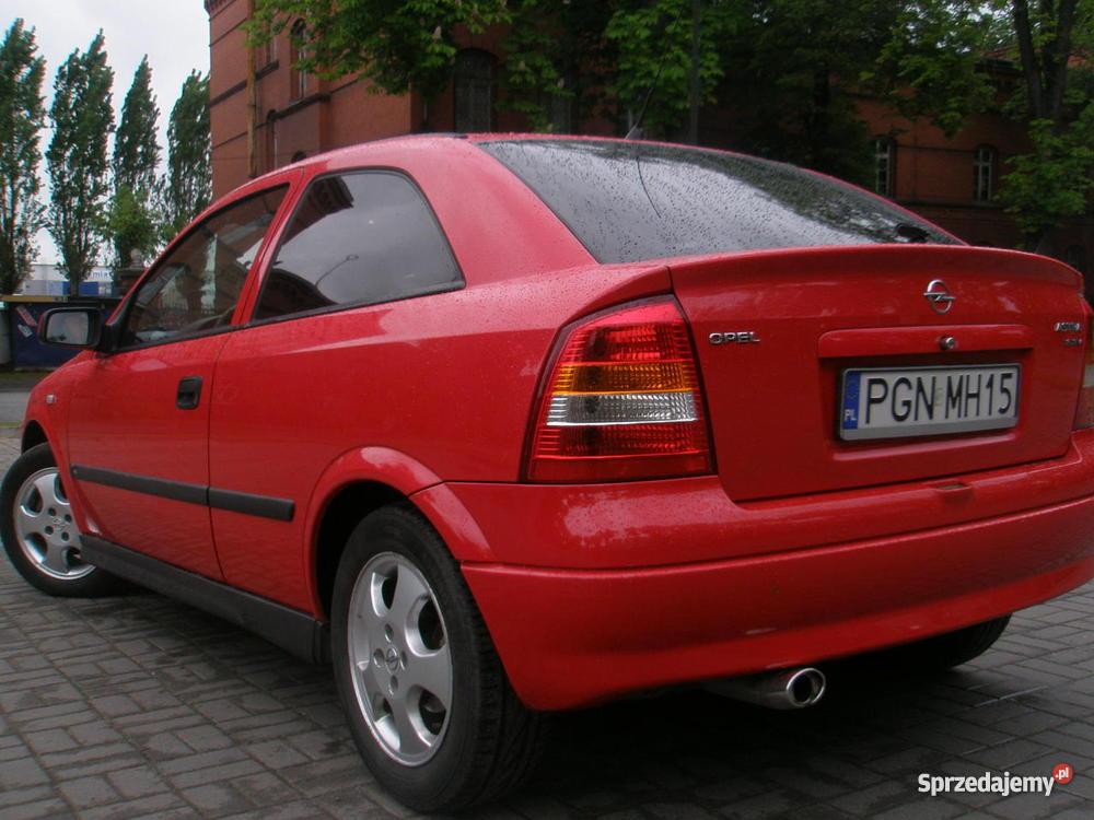Opel Astra II 1999 16 16V Klima Gniezno
