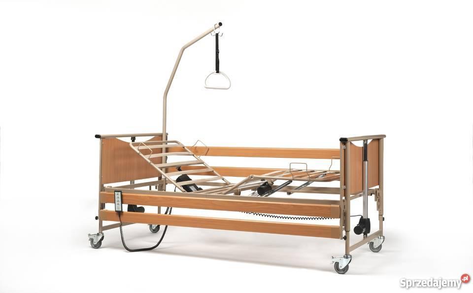 Polmed łóżko Rehabilitacyjne Z 2 Materacami Transport Wozek