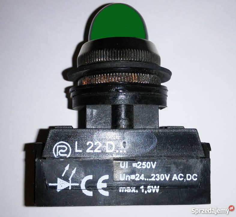 Uniwersalna diodowa lampka sygnalizacyjna L22Dc Warszawa sprzedam