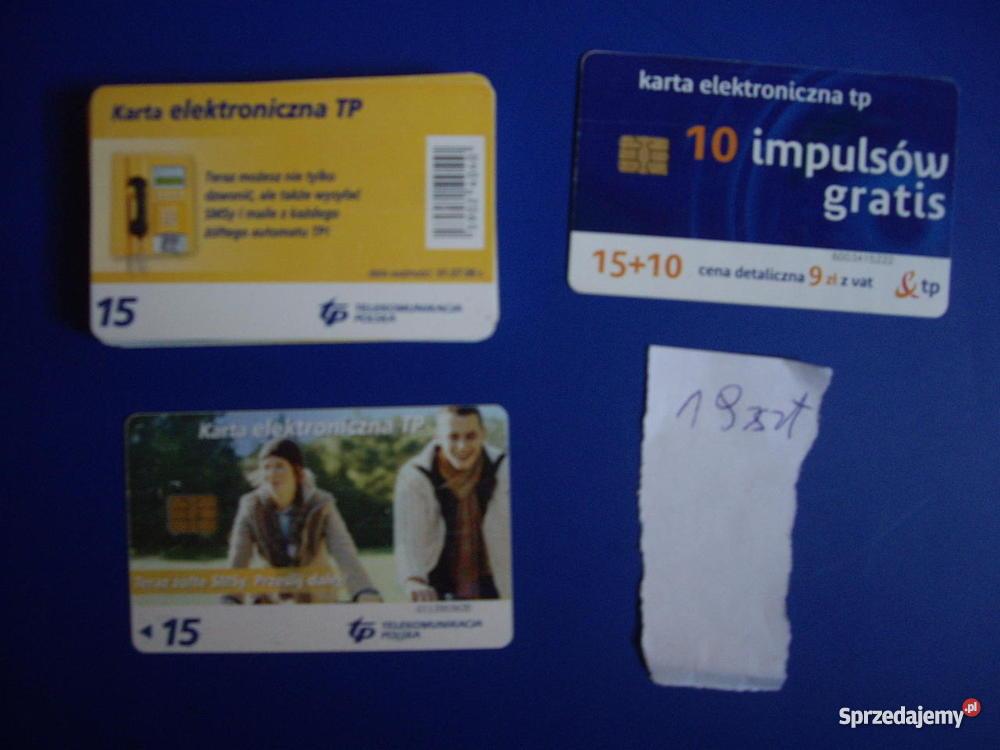 Karty telefoniczne chipowe