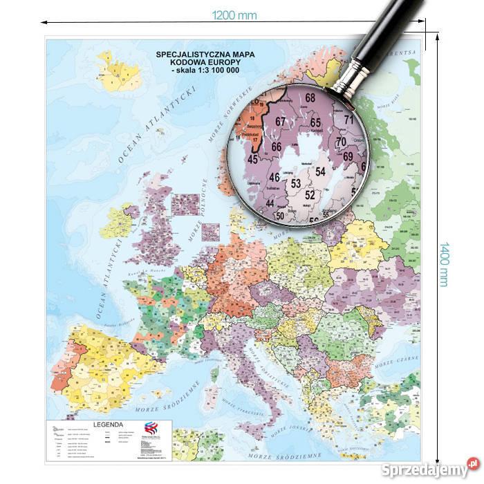 Aktualna Mapa Europy Sprzedajemy Pl