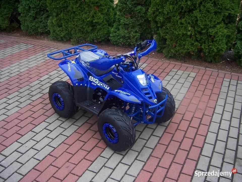 Quad 110 cc dla dzieci Nitro Motors średni BigFoot