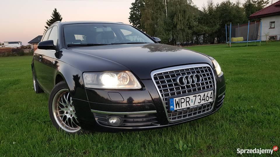 Audi A6 C6 idealny stan 100 bezwypadkowy immobilizer mazowieckie Warszawa sprzedam