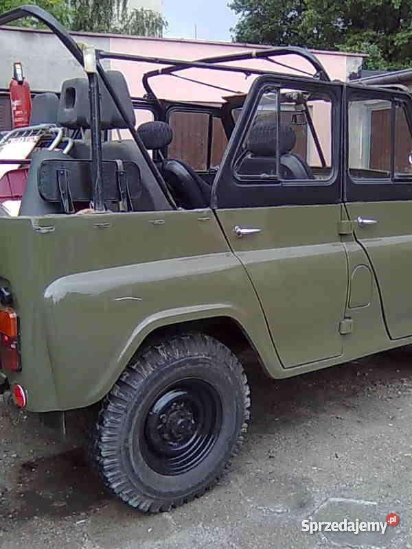 UAZA 31512 nowsza Uaza 469B manualna Zduńska Wola