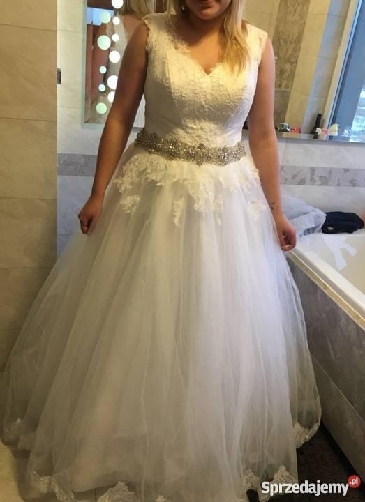 5261d17784 Piękna suknia ślubna Princessa Odzież ślubna Koszalin