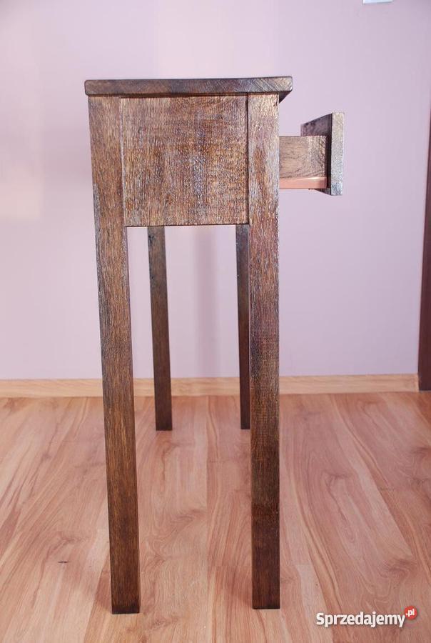 stolik konsola toaletka stoliczek drewniane Debo Antyki, Sztuka, Kolekcje zachodniopomorskie Bielice