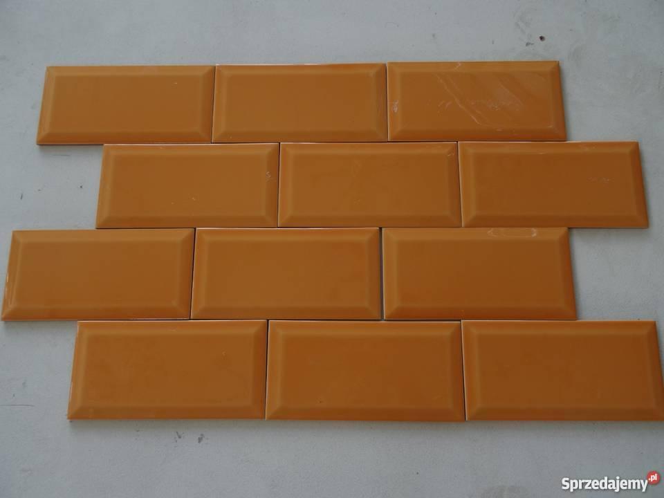 Płytki Cegiełka 10 X 20 Pomarańczowe Do Kuchni łazienki