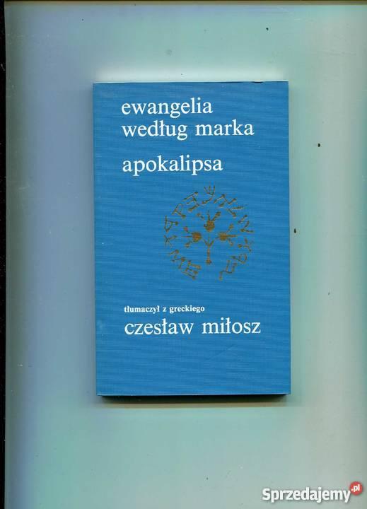Ewangelia według Marka Apokalipsa Rok wydania 1984 Pozostałe Szczecin