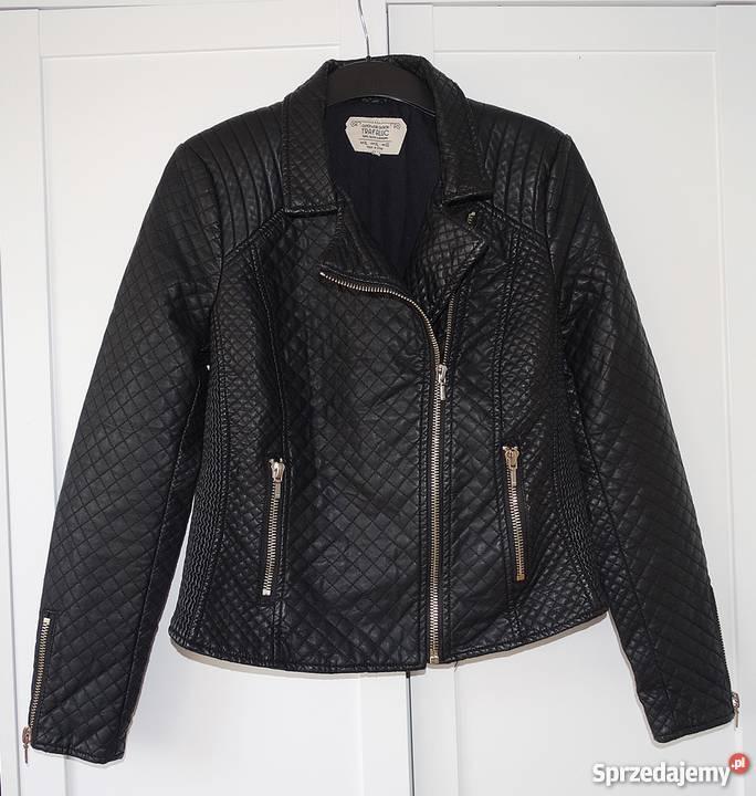 869fc7ad72 Zara czarna kurtka pikowana ramoneska eko skóra zachodniopomorskie sprzedam