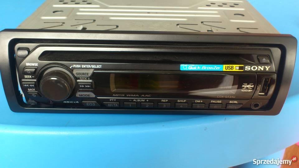 Modish Radio samochodowe SONY CDX-GT31U Pruszków - Sprzedajemy.pl TS09