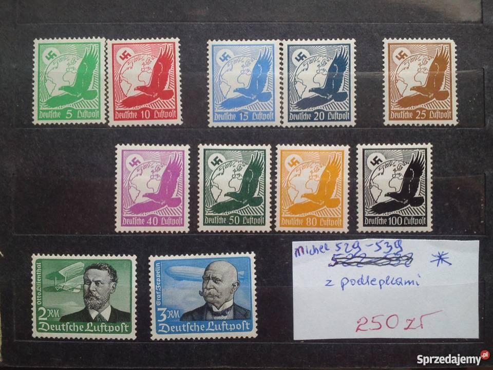 Stare znaczki pocztowe niemieckie sprzedam