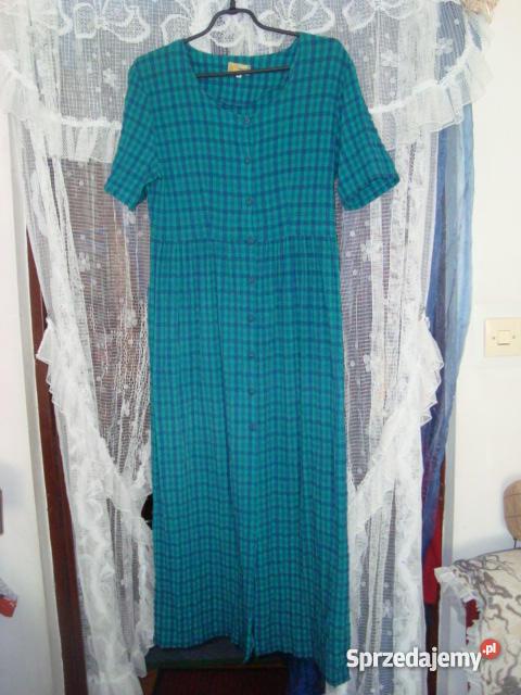 1173f928d4 Sukienka rozpinana z przodu - długa 40(L) - Sprzedajemy.pl