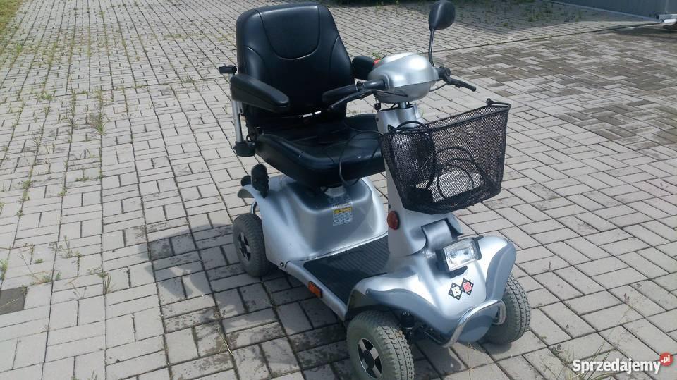 Wózek skuter inwalidzki w stanie BB czterokołowy Syców sprzedam