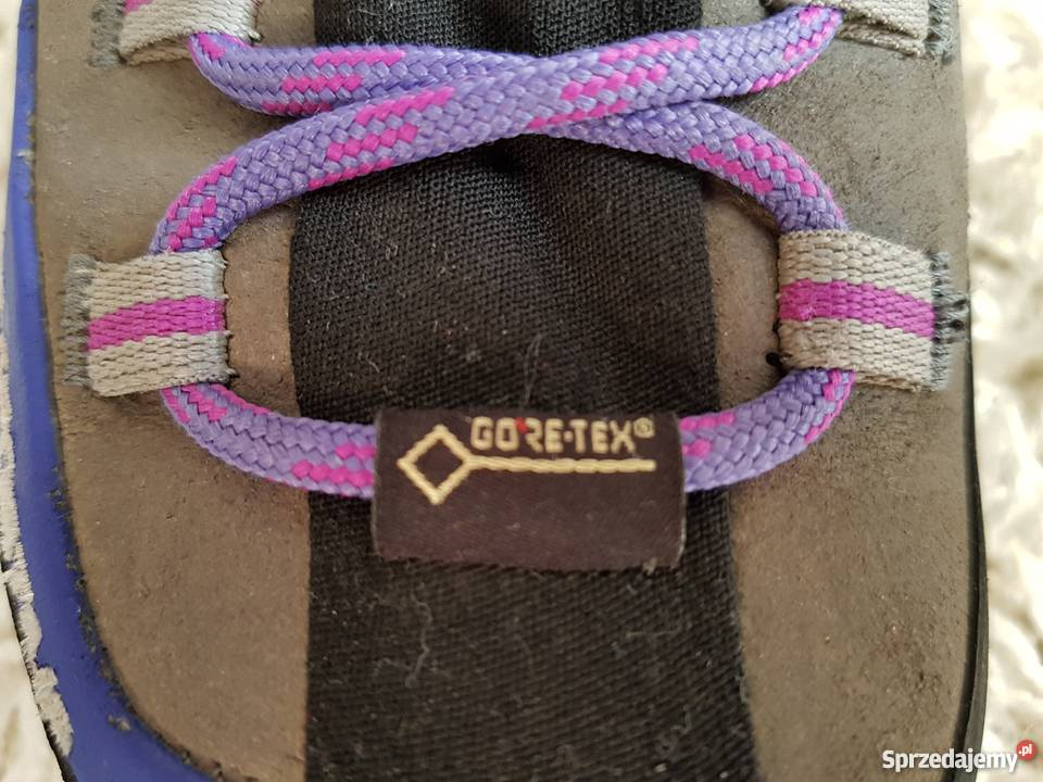 Buty trekkingowe LA SPORITVA, membrana GORE TEX, skóra PERWA