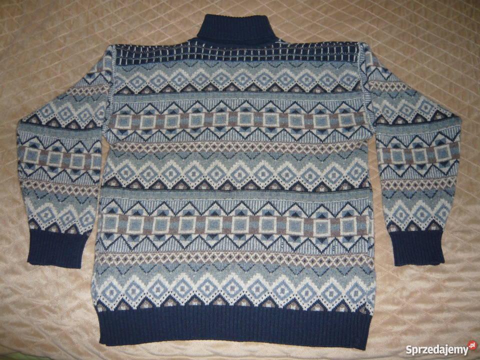 Nowość swetry męskie wełniane - Sprzedajemy.pl DM75