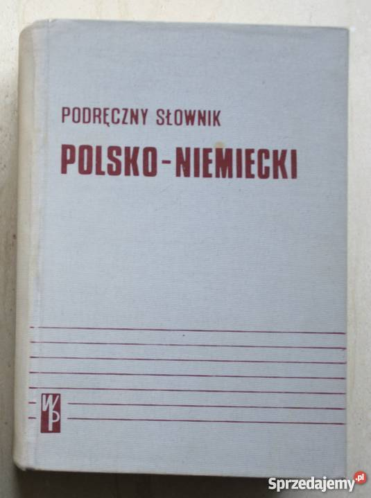 Podręczny słownik polskoniemiecki A Bzdęga J Straszyn