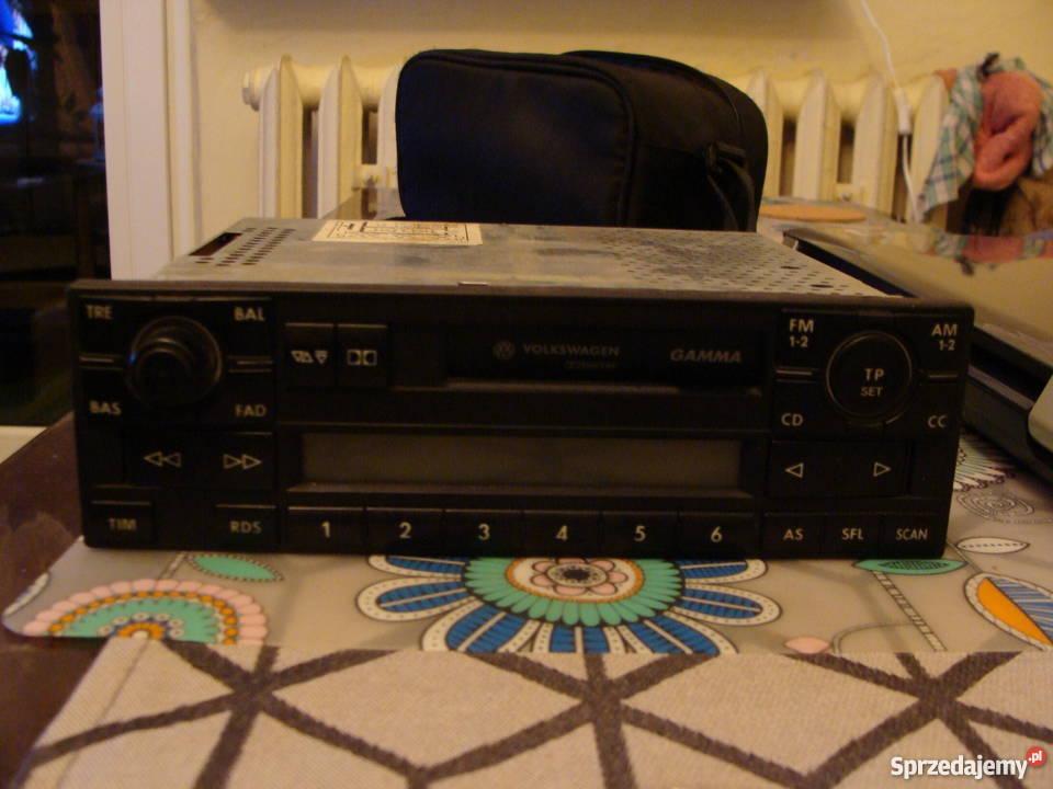 Genuine Vw Golf Passat T4 Bora Gamma Radio Cassette Security