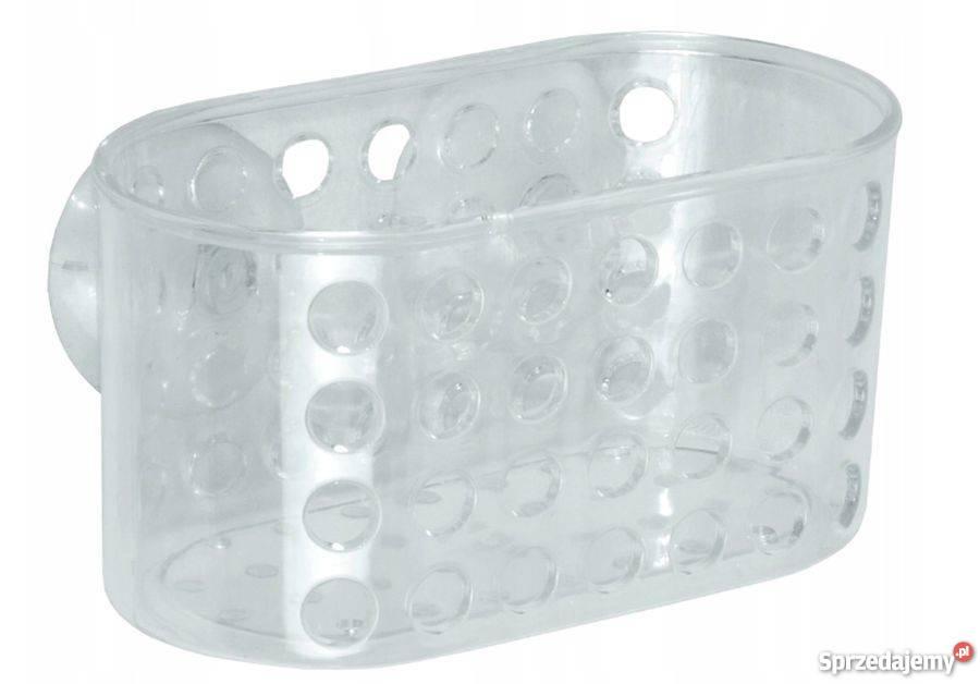 Plastikowa Półka łazienkowa Na Przysawkę