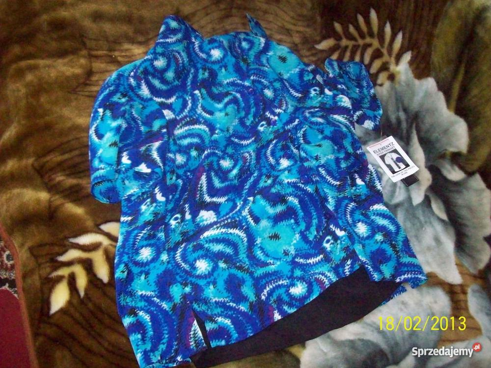odzież nową z metkami z ameryki niebieski Bluzki i koszule