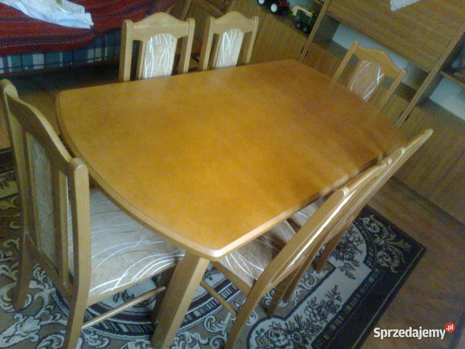 stół i 6 krzeseł promocja