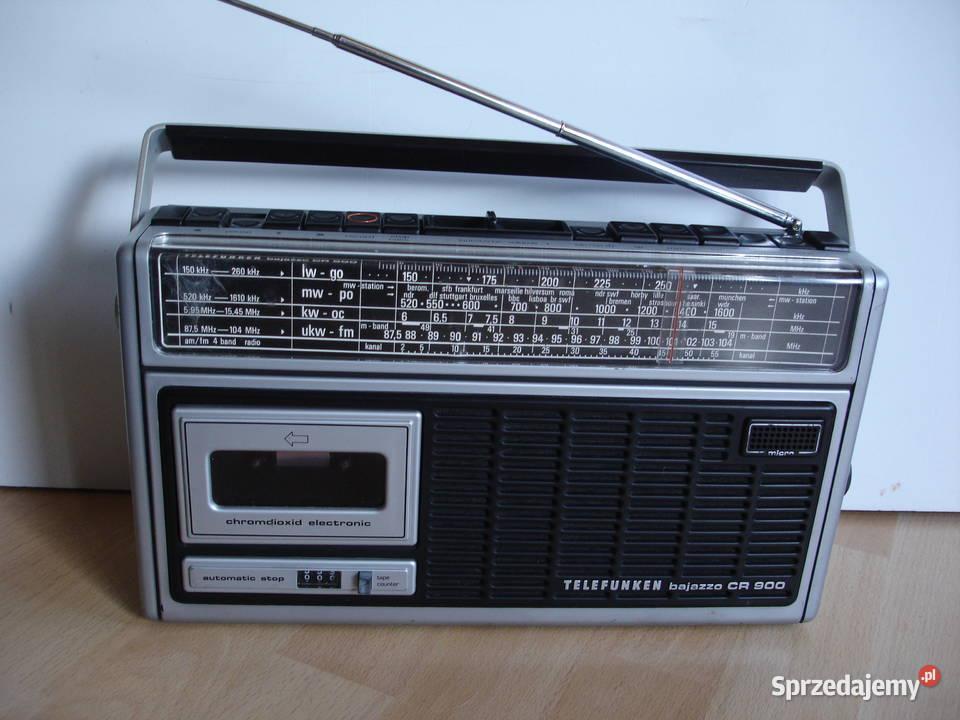 Radiomagnetofon TELEFUNKEN BAJAZZO CR-900
