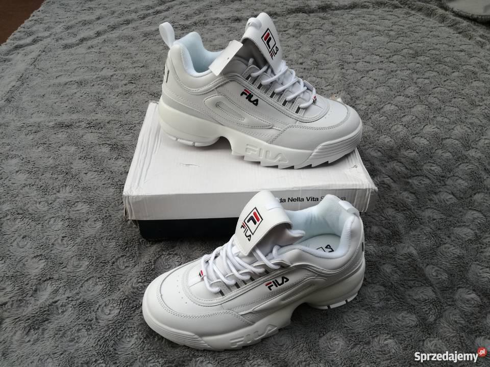 Buty sportowe FILA białe 37
