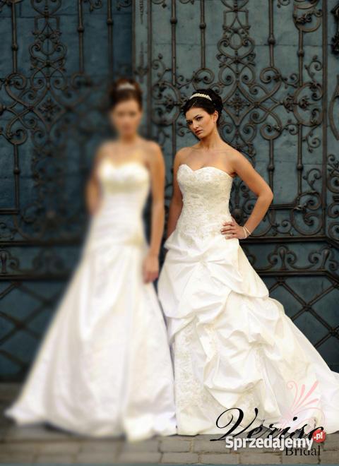 Suknia ślubna ecru 38 Verise Caprice bolerko