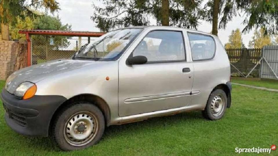 Fiat bez dokumentów Seicento Siedlce