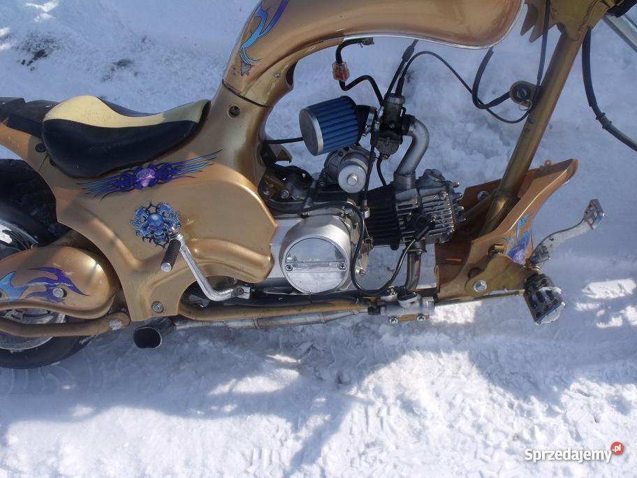 Mini Chopper tuningharleyled ostateczna 4KM Motocykle i skutery Nowy Sącz