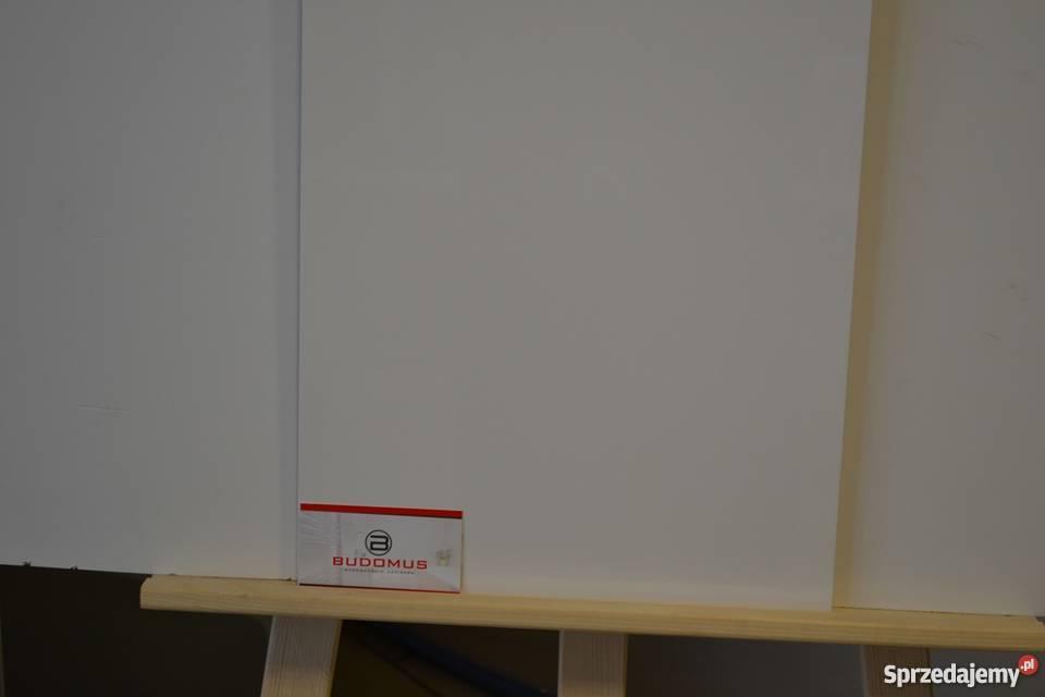 biała płytka ścienna 30x90 połysk lux Zakopane