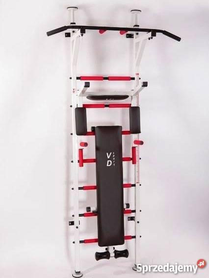Chwalebne Drabinka gimnastyczna metalowa, siłownia, zestaw do ćwiczeń BU01